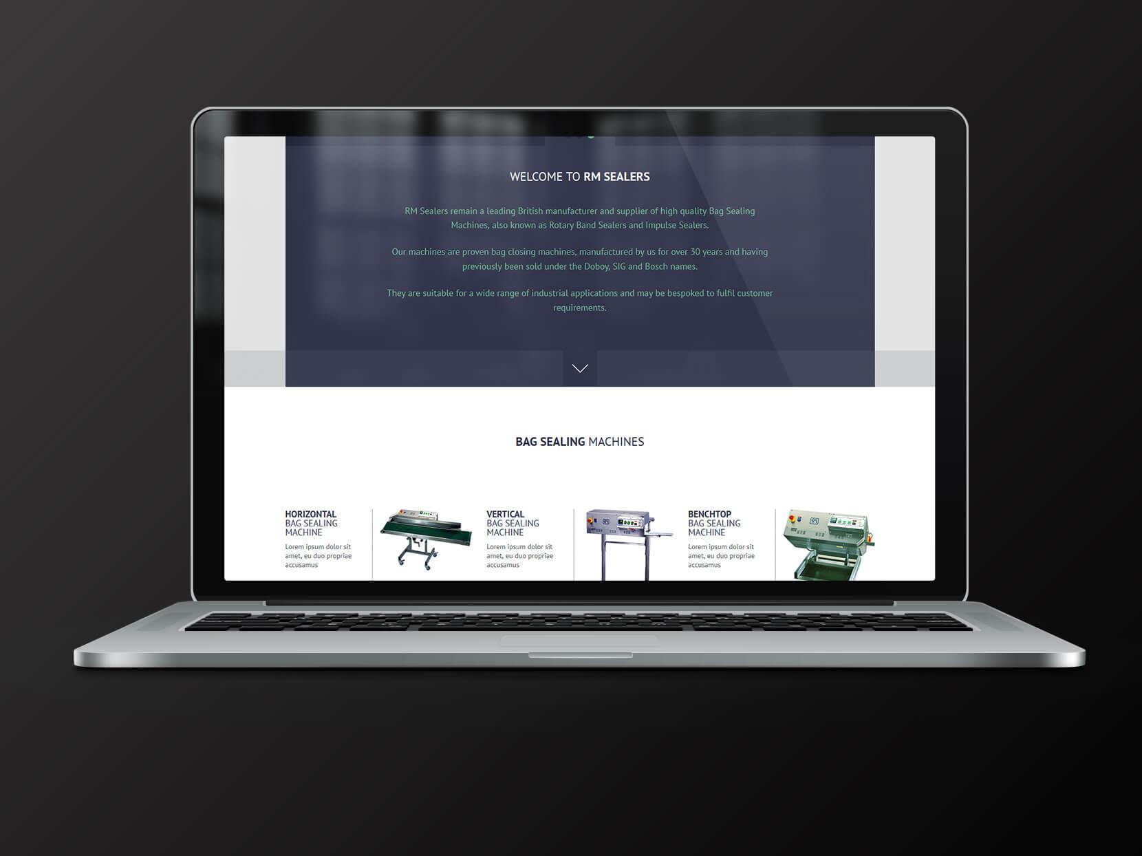 New bag Sealing Machine Website